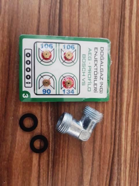 Doğalgaz Enjektör Ocak Memesi Takımı Bosch, Ve Yeni̇ Nesil