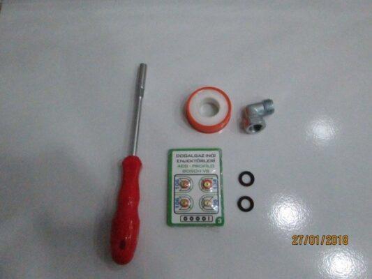 Doğalgaz Enjektör Dönüşüm İçi̇n Ne Lazimsa Lokma set Bu Pakette