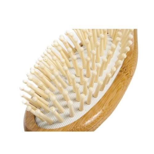 Bambum Lenger Saç Fırçası Tarak Bambu Kalitesiyle