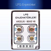 Lpg Ocak Memesi̇ 5 Li Paket Enjektör Arçelik Beko Uyumlu Lpg Tüp